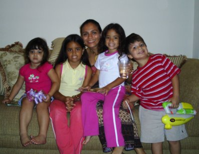 Paola and Kids
