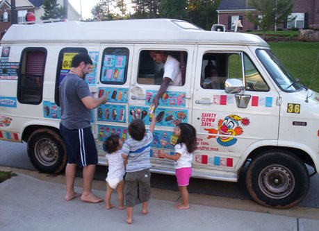 Ice Cream on wheels