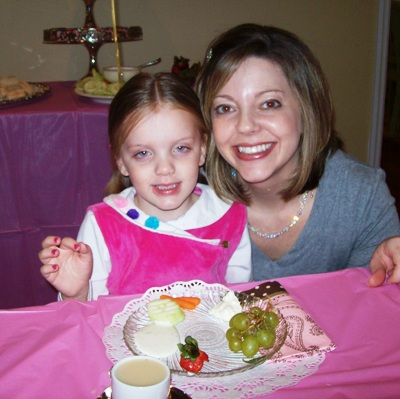 Birthday Tea Party Girl