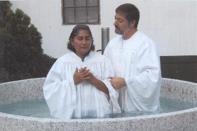 Baptism in Lakeview