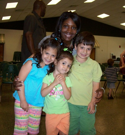 Mrs. Gamble and Kids