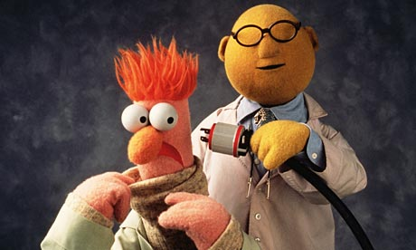 Beaker and Profesor HoneyDew