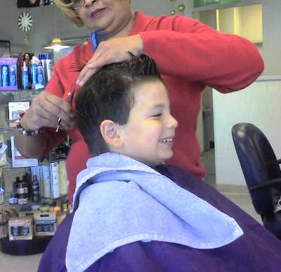 Matthew Haircut