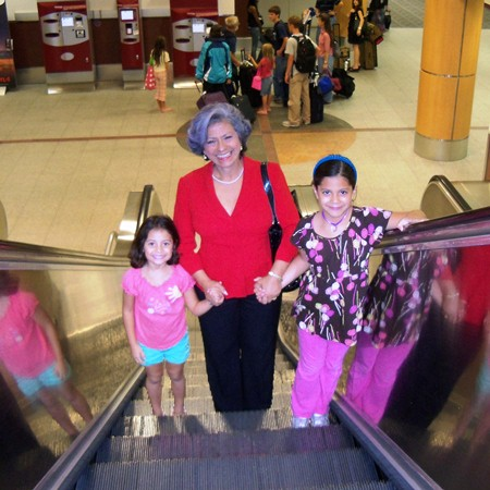 Abuela and the girls