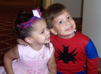 Princess and Spiderman